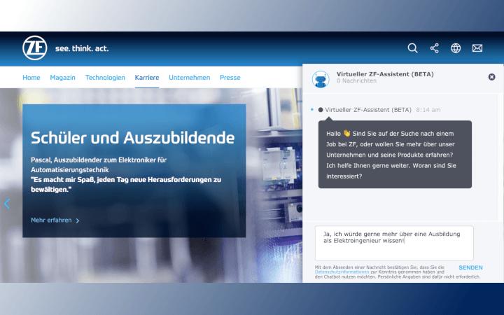 Recruiting & Employer Branding bei der ZF Friedrichshafen AG: Ein Interview mit Christina Marpe und Martin Frick