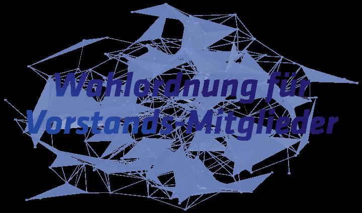 Bild Text Netzwerk Wahlordnung Vorstand