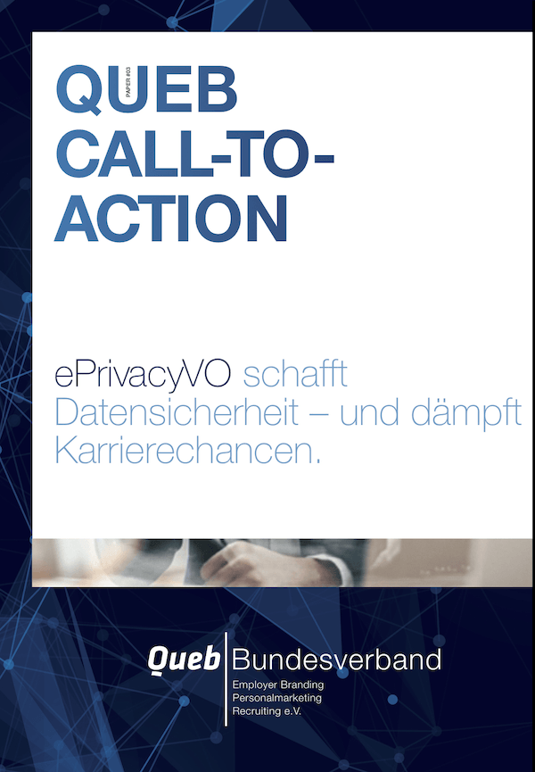 Queb Bundesverband Paper: EPrivacyVo: Call To Action