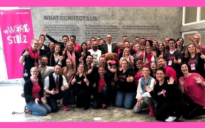 """Die TELEKOM BOTSCHAFTER haben den """"HR Innovation Award 2019″ gewonnen. Wir sprechen mit Winfried Ebner über das Projekt."""
