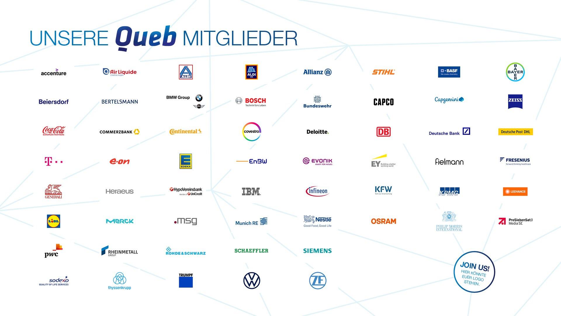 Mitglieder Queb | Bundesverband für Employer Branding, Personalmarketing und Recruiting e. V.