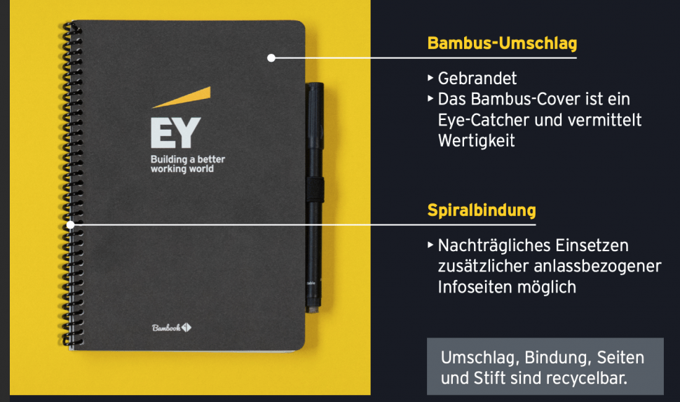 Sustainable Recruiting: EY denkt Recruiting-Broschüre neu