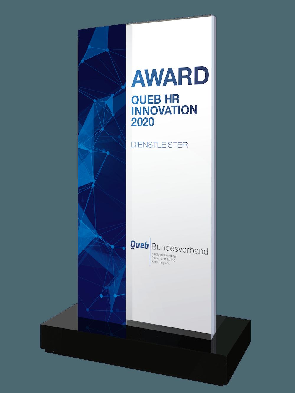 Queb Award Dienstleister 2020