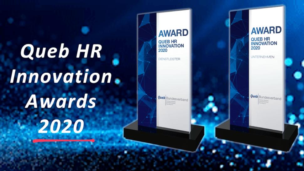 Queb HR Innovation Awards 2020: Alle Gewinner und Bewerber in der Übersicht