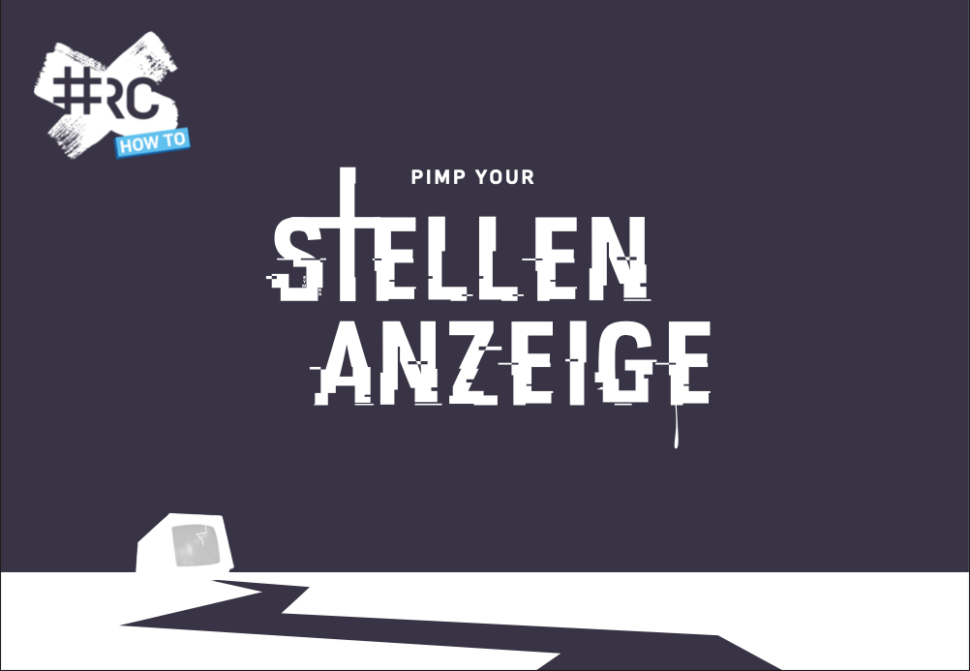 How to pimp your Stellenanzeige