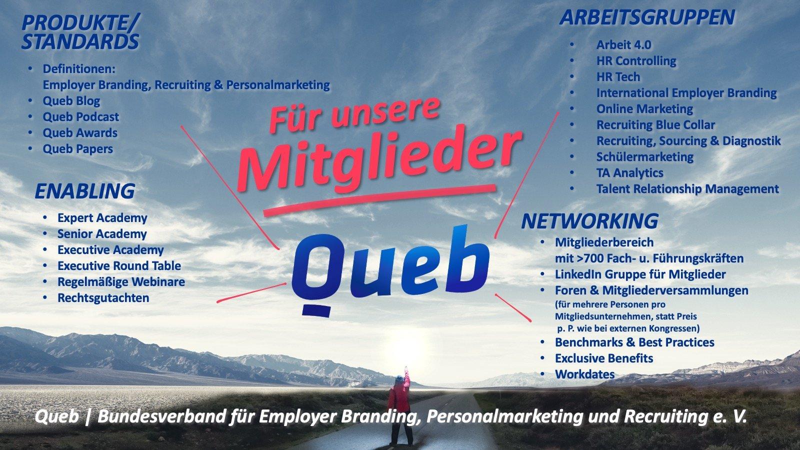 Queb | Bundesverband für Employer Branding, Personalmarketing und Recruiting e. V. Portfolio