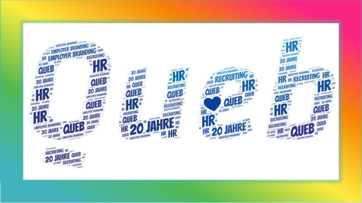 Queb Logo Einzeln Tagcloud Herz Divers 2