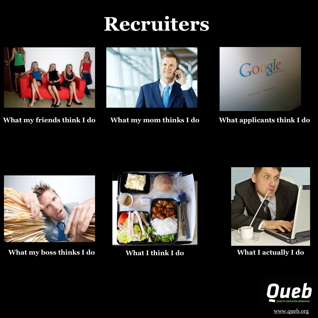 What Recruiters really do