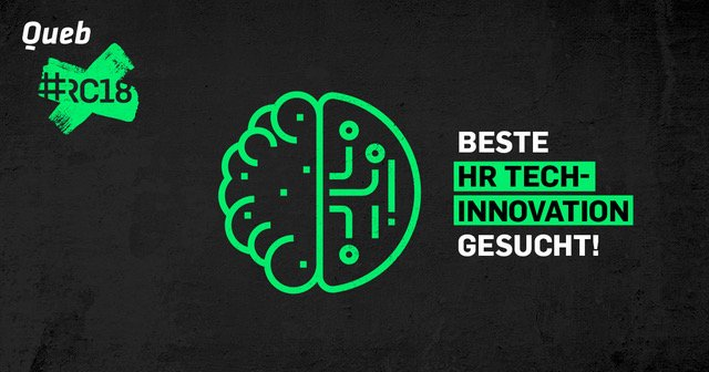 """HR Tech Innovation"" Queb Award: Es wird spannend!"